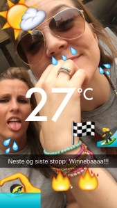 We got a bit sweaty in Accra